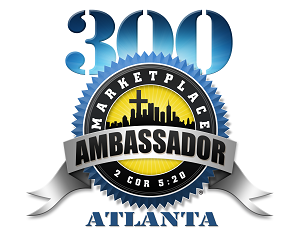 marketplace ambassador atl logo in blue and silver